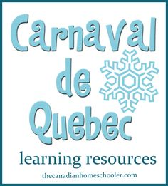 Learning Resources about the Quebec Winter Carnival French Teaching Resources, Teaching Activities, Teaching French, Classroom Activities, Learning Resources, Culture Activities, Learning Tools, Teaching Ideas, Classroom Ideas
