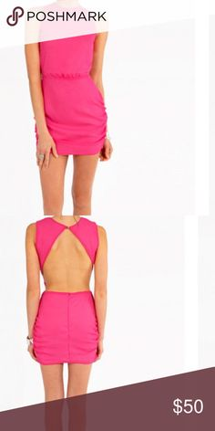 ✳️🆕Tobi Open Back Dress, hot pink, S ✳️🆕Tobi Open Back Dress, hot pink, S; purchased new but never got the chance to wear. Perfect for going out wear, holiday party, or NYE!! Tobi Dresses