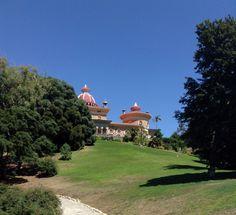 Palacio de Monserrate desde el Parque