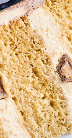 Triple Peanut Butter Cake