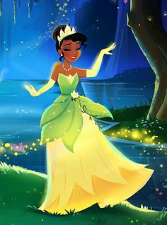 Tiana in the Bayou by Unknown