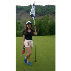 My golf attire. Just kidding!