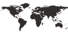 Free vector graphic: Map Of The World, International - Free Image ...