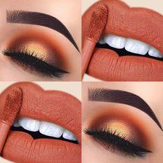 Skin Makeup, Eyeshadow Makeup, Eyeliner, Eyeshadow Palette, Eyebrows, Yellow Eyeshadow, Makeup Palette, Makeup Cosmetics, Cute Makeup