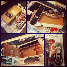 Dak-dak fingerboards get wild!  Techdeck starter kits - obstacle/carrying box, 2 plastic fingerboards and 1 tool = RM80 only