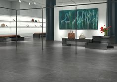Our Slate porcelain tile range is home to a number of stylish, high-quality flooring options for indoor and outdoor living spaces. Tile Design, Custom Design, Granite Tile, Travertine, Marble Suppliers, External Cladding, Wall And Floor Tiles, Stone Tiles, Gray