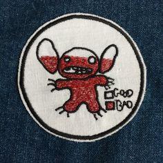 Stitch Iron on Lio and Stitch Disney Cute gift embroidered patch - Estás en el lugar correcto para healthy eating Aquí presentamos healthy eating que está buscando - Cute Patches, Pin And Patches, Iron On Patches, How To Sew Patches, Cute Stitch, Lilo And Stitch, Embroidery Patches, Embroidery Art, Embroidered Patch