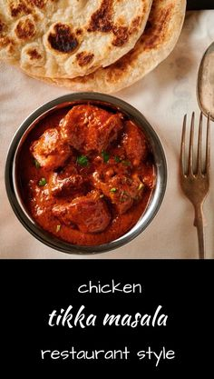 Make chicken tikka masala just like they serve in your favourite restaurant. Tandoori chicken in a luscious sauce with hints of coconut and cream. Veg Recipes, Curry Recipes, Indian Food Recipes, Asian Recipes, Chicken Recipes, Dinner Recipes, Cooking Recipes, Spicy Recipes, Recipies