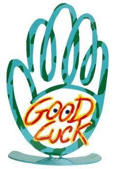 Good Luck Hamsa Hand by David Gerstein