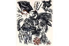 Black Abstract by Aviva Uri