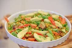 Super easy and tasty vegan salad