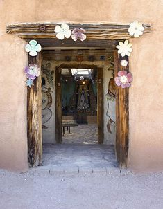 DeGrazia built the Mission in the Sun in honor of Our Lady of Guadalupe calling the mission his most durable and important piece of art. #TedDeGrazia #DeGrazia #Ettore #Ted #Artist #NationalHistoricDistrict #Adobe #Architecture #Tucson #Arizona #AZ #Catalinas #Desert #MissionInTheSun #Mission #Murals #Guadalupe #PadreKino #Frescoes