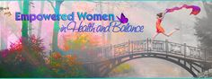 Banner Design for Empowered Women in Health and Balance by Julia Stege of Magical-Marketing.com