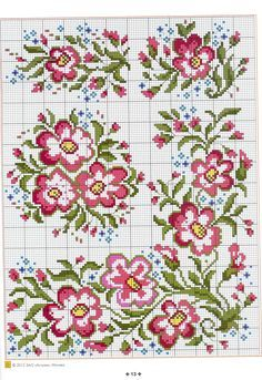 cross stitch - kanaviçe by tommie Cross Stitch Heart, Cross Stitch Borders, Cross Stitch Samplers, Cross Stitch Flowers, Cross Stitch Designs, Cross Stitching, Cross Stitch Embroidery, Embroidery Patterns, Cross Stitch Patterns