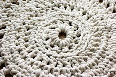 DIY rope rug by whollyKao