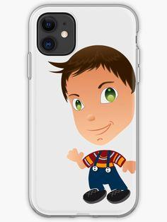 "'""Adam"" - Little People of Technopolis' iPhone Case by George Barakoukakis Little People, Cartoon Characters, Iphone Case Covers, Cover Design, Iphone 11, Finding Yourself, Artists, Ink, Unique"
