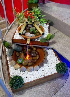 Blog sobre fontes de água artesanais. Fontes para interiores e jardim de inverno. Um Convite ao Bem-estar!!