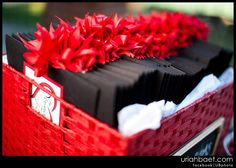 Red and black wedding Programs  #goth wedding ... Wedding ideas for brides & bridesmaids, grooms & groomsmen, parents & planners ... https://itunes.apple.com/us/app/the-gold-wedding-planner/id498112599?ls=1=8 … plus how to organise an entire wedding, without overspending ♥ The Gold Wedding Planner iPhone App ♥