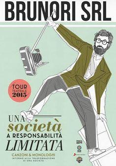 """Brunori SaS da marzo """"Brunori Srl: una società a responsabilità limitata"""": tra teatro canzone e concerto - Suoni e strumenti"""