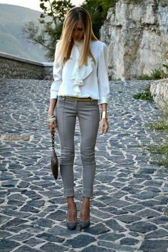 Perfect blend of different styles. Love.