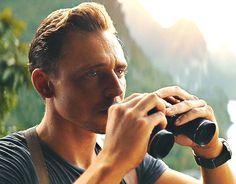 Tom Hiddleston as Captain James Conrad in Kong: Skull Island