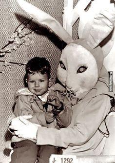 ಠ_ಠ 世上最恐怖嚇人的復活兔大集合,來過一個毛骨悚然的復活假期⋯⋯