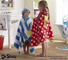 Dr. Seuss Bath Wraps