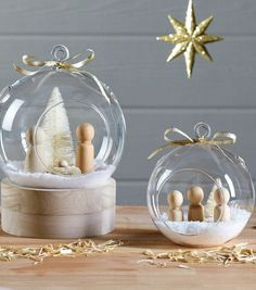 Nativity Scene Terrariums