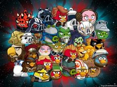 Complete Angry Birds Star Wars 2 All Characters Guide Featured Image Star Wars Online Games, Star Wars Games, Angry Birds Characters, Star Wars Characters, Chef D Oeuvre, Oeuvre D'art, Jurassic World, Nintendo 3ds, Star Wars 2