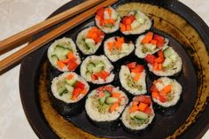 Low Fat Raw and Vegan Sushi Roll Recipe | Real Raw Health