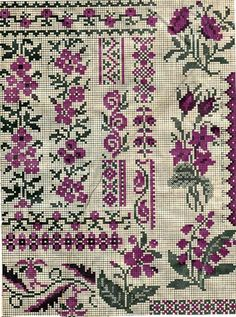 This Pin was discovered by Юли Russian Cross Stitch, Mini Cross Stitch, Cross Stitch Samplers, Cross Stitch Charts, Cross Stitch Designs, Cross Stitch Patterns, Cross Stitch Boarders, Cross Stitch Flowers, Cross Stitching