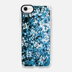 FLOWER POWER, BLUE FLORAL OMBRE, By Artist Julia Di Sano, Ebi Emporium on Casetify, #EbiEmporium #Casetify #iPhoneCase #FloralCase #FloraliPhone #ombre #blue #indigo #flowers #musthave #tech #iPhone7 #iPhone8 #iPhone8Plus #iPhoneX #iPhone6 #iPhone6Plus #iPhone7Plus #iPhone8Plus #Samsung #want #CasetifyArtist