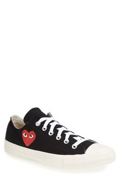 7db2cdda3a77c Comme des Garçons PLAY x Converse Chuck Taylor® Low Top Sneaker (Men)