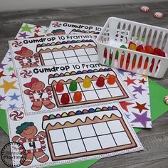 LOVE these cute Gingerbread Man Activities for Preschool. Numbers Letters Counting Shapes Names Fine motor and more. Educational Activities For Preschoolers, Rhyming Activities, Craft Activities For Kids, Kindergarten Activities, Preschool Activities, Educational Crafts, Preschool Christmas, Preschool At Home, Preschool Math