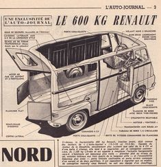 Auto Journal, Automobile, Bus, Camper Van, Trucks, Camping, Vehicles, Concept, French