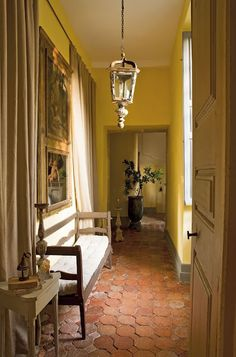A  chateau in Pyrenees, France built in 18th century and carefully restored by Aurélien Deleuze and his wife, Pascale.    1700's chateau in south of France, Pau, restored.