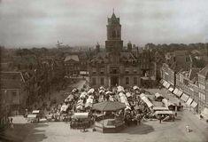 Markt Delft (jaartal: 1910 tot 1920) - Foto's SERC