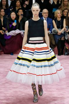 The Prettiest, Dreamiest, Heart-Eye-Inducing-est Dresses On The Runway #refinery29  http://www.refinery29.com/2015/02/81622/pretty-dresses-couture-week-2015#slide-3  This Christian Dior dress only gets more stunning once you know the story behind its pleats.