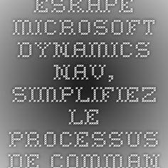 Eskape - Microsoft Dynamics NAV, Simplifiez le processus de commande - Démo interactive
