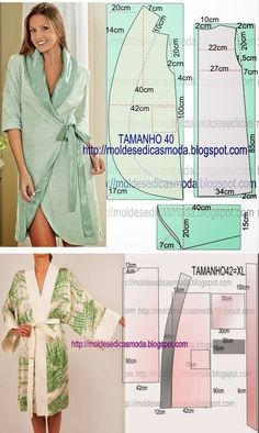 Hollow Out Crochet Cami Dress Coat Patterns, Dress Sewing Patterns, Sewing Patterns Free, Sewing Tutorials, Clothing Patterns, Fashion Sewing, Diy Fashion, Sewing Clothes, Diy Clothes