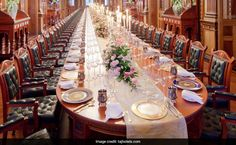 Built in 1893, the scorpion-shaped Falaknuma Palace with its luxurious interiors was converted into a hotel by the Taj Group about a decade ago. PM Narendra Modi Ivanka Trump dinner: Falaknuma Palace in Hyderabad has the world's largest dining hall.