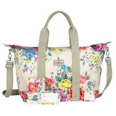 Hampstead Rose overnight bag gift set | CathKidston Flower Bag, Floral Bags, Cath Kidston, Stocking Fillers, Casual Bags, Saved Items, New Wardrobe, Purses And Bags, Diaper Bag