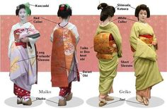 WHAT ARE GEISHA? There are many misconceptions over what a geisha truly is and dose. A geisha is a highly skilled performing arti. Traditional Fashion, Traditional Outfits, Traditional Japanese, Japanese Kimono, Japanese Art, Japanese Things, Geisha Art, Memoirs Of A Geisha, Kimono Design