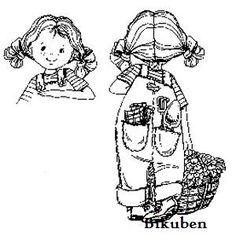 tuinbroek voorenachter reminds me of peppi longstockings - way cute