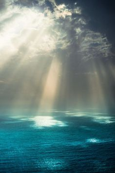 ♥...where the water meets the sky ... this shall be where we'll meet ... can't wait!