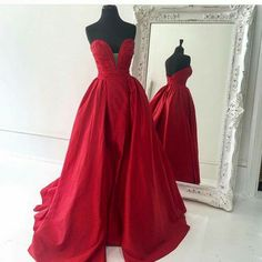 Beautiful Prom Dress, red prom dresses simple prom dress sexy prom dress cheap prom dresses 2018 formal gown satin evening gowns ball gown party dress prom gown for teens Meet Dresses Prom Dresses 2016, Long Prom Gowns, Long Evening Gowns, Cheap Prom Dresses, Formal Gowns, Sexy Dresses, Dress Prom, Dress Long, Party Dress