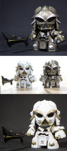 "Artmymind's Darth Samurai ""Steampunk"" & ""Purity"" resin art multiples announced!!!"