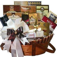 Chocolate Christmas Gift Baskets