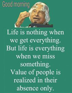 Are you looking for images for good morning quotes?Browse around this website for unique good morning quotes inspiration. These enjoyable pictures will bring you joy. Apj Quotes, Life Quotes Pictures, Motivational Quotes For Life, Meaningful Quotes, Words Quotes, Positive Quotes, Inspirational Quotes, Positive Thoughts, Qoutes