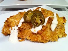 Hem and Her: Jalapeno Cheddar Chip Crusted Chicken